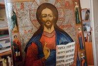 Закончена реставрация старинной иконы Спаса Вседержителя,  которая будет передана приходу храма Входа Господня в Иерусалим микрорайона Северный парк