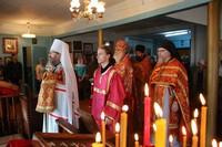 В четверг Светлой седмицы глава Томской митрополии совершил богослужение в с. Мельниково