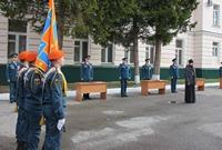 Священники Томской епархии приняли участие в торжественных мероприятиях, посвящённых 370-й годовщине со дня образования пожарной охраны России