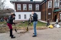 Светлая седмица в храме свт. Феодосия Черниговского завершилась приходским субботником