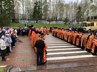 Томичи молитвенно почтили память воинов, павших в годы Великой Отечественной войны
