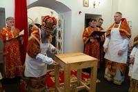 В деревне Крутоложное освящён храм святой великомученицы Екатерины