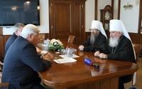Главы Калужской и Томской митрополий встретились с губернатором Томской области