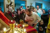 В Томском кардиоцентре поклонились мощам св. благоверных князей Петра и Февронии