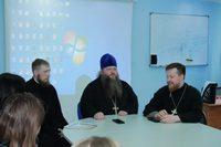 В политехническом техникуме прошёл круглый стол с участием представителей Томской епархии
