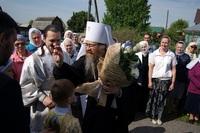 В праздник Вознесения Господня митрополит Ростислав возглавил богослужение в северском храме святого пророка Илии