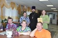 В рамках литературной гостиной в «Лесной даче» состоялась встреча с представителями Томской епархии