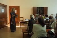 Об истории Иоанно-Предтеченского монастыря рассказала искусствовед Томского областного художественного музея