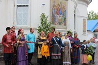 В Томске прошли праздничные гуляния «Троицкий хоровод»