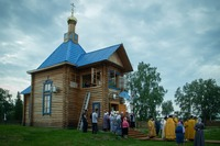 В храме посёлка Берегаево прозвучала проповедь митрополита Ростислава