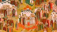Всех святых Русской Церкви почтили в Томске