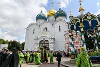 День памяти преподобного Сергия Радонежского в духовном центре России