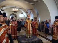 Ильинский придел Богоявленского собора отметил престольный праздник архиерейским богослужением
