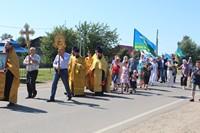 По улицам Первомайского прошёл праздничный крестный ход