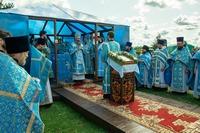 Юбилейные торжества в честь обретения Богородской иконы Божией Матери увенчались архиерейской Божественной литургией