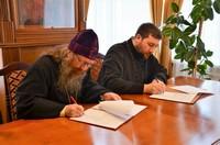 Состоялось подписание Соглашения о сотрудничестве между Томской епархией и Благотворительным фондом поддержки Православия «Ктиторъ»