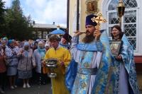 В Воскресенской церкви была совершена праздничная Божественная литургия