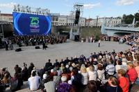 Представитель Томской епархии принял участие в праздновании 75-летия Томской области