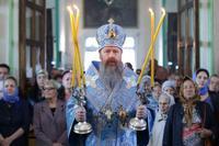 Митрополит Ростислав возглавил Божественную литургию в кафедральном соборе г. Семипалатинска