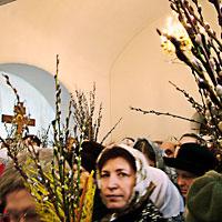 Неделя 6-я Великого поста: Вход Господень в Иерусалим, Вербное воскресение.