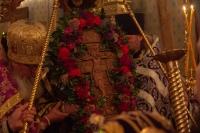 В канун праздника Воздвижения Креста Господня митрополит Ростислав совершил всенощное бдение