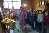 Частицы мощей св. Матроны Московской и Плата Пресвятой Богородицы прибыли в Зырянский и Тегульдетский районы