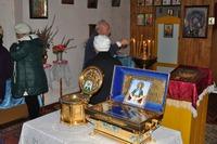Мощам св. Матроны Московской и частице Плата Пресвятой Богородицы поклонились в Шегарском районе