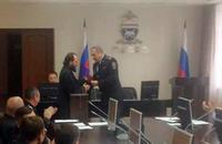 Священнику Воскресенской церкви вручен диплом кандидата юридических наук