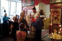 Юбилейный престольный праздник отметил приход апостола Иоанна Богослова в Академгородке