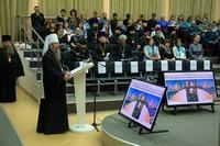 В Пушкинской библиотеке Томска официально открылись XII Макариевские образовательные чтения