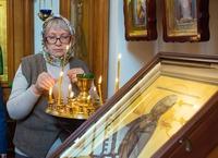 Томичи молитвенно почтили память святой блаженной Домны Томской