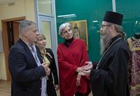 Митрополит Ростислав встретился с этнографом из Франции