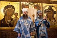 Архиереи Томской митрополии возглавили праздничную Божественную литургию в Богородице-Алексиевском монастыре