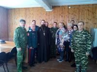 Руководитель Епархиального отдела по взаимодействию с казачеством посетил Парабель