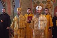 Архиереи Томской митрополии совершили литургию  в Богоявленском соборном храме Томска