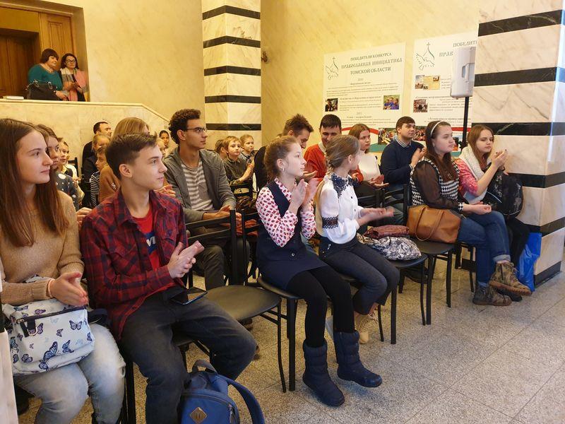 Томские школьники приняли участие в Общероссийской олимпиаде по Основам православной культуры