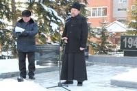 Священнослужитель принял участие в митинге, посвященном Дню неизвестного солдата