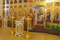 Храм в деревне Крутоложное отметил первый престольный праздник
