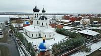 Старинный Знаменский храм г. Томска торжественно отметил престольный праздник