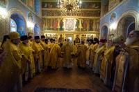 Священнослужители Томской епархии приняли участие в соборном богослужении