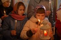 Вифлеемский огонь прибывает в Томск