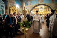В Богоявленском кафедральном соборе сотни томичей молитвенно встретили праздник Рождества Христова