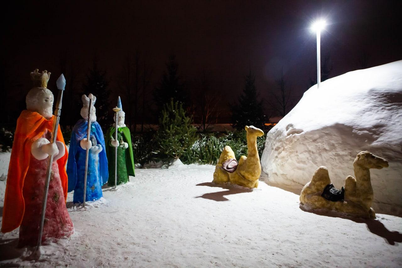 В Святочные дни томичи смогут посетить вертепы томских храмов