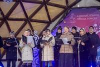 Хор Томской духовной семинарии поздравил горожан с праздником Рождества Христова