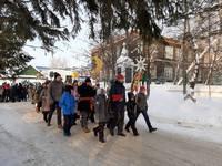 В Томске прошло рождественское «Шествие со Звездой»