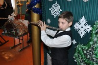На приходе Смоленской иконы в с. Мельниково состоялось праздничное рождественское выступление