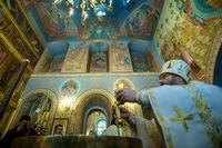 Кафедральный собор г. Томска отметил престольный праздник архиерейским богослужением