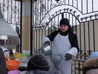 Православная молодёжь приняла участие в организации крещенских мероприятий