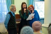 На приходе храма свт. Феодосия Черниговского прошёл Святочный литературно-музыкальный вечер