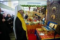 XIII Международная православная выставка «От покаяния к воскресению России» открылась молебном на начало благого дела